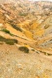 La mina de cobre de la montaña de Parys permanece Fotografía de archivo libre de regalías