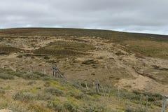 La mina de oro en la isla de Tierra del Fuego Foto de archivo libre de regalías