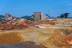 La mina de Riotinto imagen de archivo