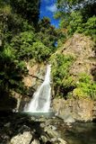 La Mina Falls and Sky Royalty Free Stock Photo