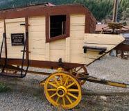 La mina y el molino de oro de Argo en Colorado Imágenes de archivo libres de regalías
