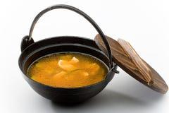 la minestra di Kim-'chi' con chiken Fotografia Stock Libera da Diritti