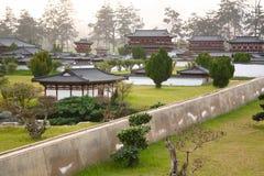 La mini vecchia città in Daming Palace era il complesso imperiale del palazzo di Tang Dynasty, Xian China immagini stock libere da diritti