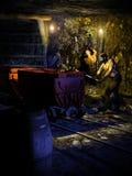 La miniera d'oro Fotografia Stock Libera da Diritti