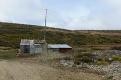 La miniera d'oro sull'isola di Tierra del Fuego Fotografie Stock Libere da Diritti