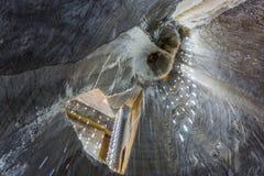 La miniera di sale di Turda in Romania immagine stock