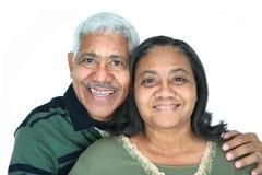 La minoranza coppia Fotografia Stock