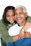 La minoranza coppia fotografia stock libera da diritti