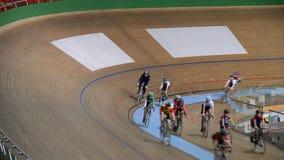 La Minsk-arène complexe de sports étaient des concours dans le sport de recyclage parmi des jeunesses banque de vidéos