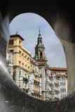 La Mirada, Baskisch Land vitoria-Gasteiz Stock Fotografie