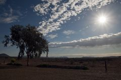 La mirada hacia el Flinders se extiende en una mañana soleada del otoño foto de archivo libre de regalías