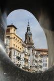 La Mirada, Vitoria-Gasteiz baskland Arkivbild