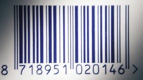 La miscela del codice a barre zumma video d archivio