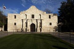 La misión histórica de Álamo en San Antonio Tejas Foto de archivo libre de regalías
