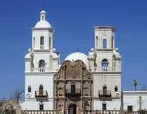 La mission de San Xavier del bac dans Tucson Photos libres de droits