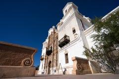 La mission de San Xavier del bac dans Tucson Arizona Image libre de droits