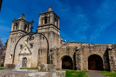 La mission espagnole historique Concepcion photos libres de droits