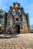 La mission espagnole historique Espada, le Texas Images libres de droits
