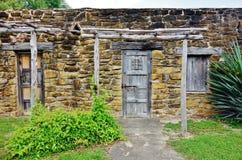 La missione San José y San Miguel de Aguayo a San Antonio, il Texas immagine stock libera da diritti
