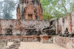 La mitad de Buda Fotos de archivo libres de regalías