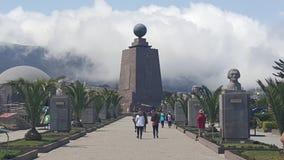 La Mitad del Mundos. La Mitad del Mundo is a park dedicated to the equator in Quito, Ecuador Royalty Free Stock Photo
