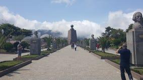 La Mitad del Mundos. La Mitad del Mundo is a park dedicated to the equator in Quito, Ecuador Stock Photography
