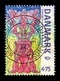 La mitología nórdica, NORDEN - hermanó el serie de las ciudades, circa 2006 foto de archivo libre de regalías
