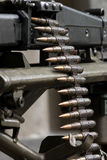 La mitragliatrice tedesca MG-42 Fotografie Stock