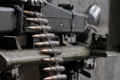 La mitragliatrice tedesca MG-42 Fotografia Stock