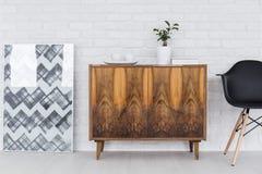 La mobilia e le decorazioni si dirigono le idee di progettazione Immagini Stock