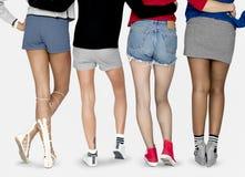 La moda tiende encanto de la muchacha del adolescente del estilo Imagen de archivo