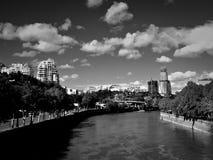 La modernità di vecchia Tbilisi fotografia stock libera da diritti