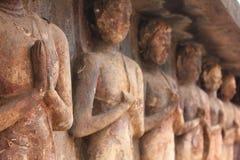 La modestia de un monje, Sukothai Imagen de archivo libre de regalías