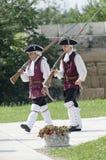 La modification de dispositif protecteur à la forteresse alba d'Iulia Photographie stock libre de droits