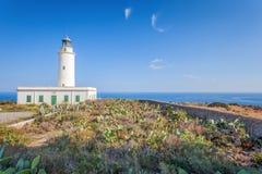 La Mola Cape Lighthouse Formentera fotografie stock
