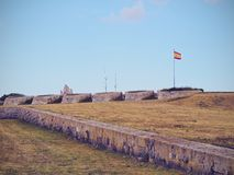 La Mola Fortress in Mahon on Minorca Stock Photography