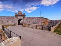 La Mola Fortress in Mahon on Minorca Stock Images