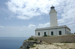 La mola lighthouse Royalty Free Stock Images