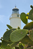La mola lighthouse Royalty Free Stock Images