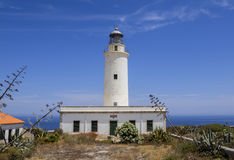 La Mola Lighthouse Formentera Royalty Free Stock Images
