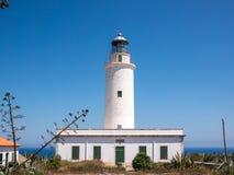 La Mola lighthouse Royalty Free Stock Image