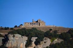 La Mola04. La Mola with the monastery on top Stock Photo
