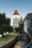 La Moldava Fotografie Stock Libere da Diritti