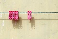La molletta da bucato Fotografie Stock