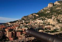 La Monaco Fontvieille Fotografie Stock Libere da Diritti