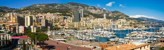 La Monaco Monte Carlo Immagini Stock Libere da Diritti