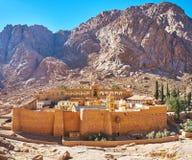La monastero-fortezza della st Catherine, Sinai, Egitto fotografie stock