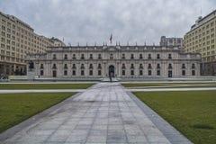 La Moneda宫殿 库存图片