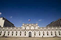 La Moneda Stock Photo