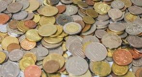La moneda Imágenes de archivo libres de regalías